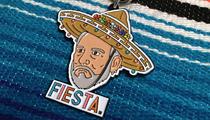 Serious-Faced Coach Pop Wears Sombrero in Hilarious Fiesta Medal