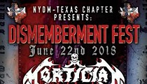 Mortician, First Texas Show in 14 Years
