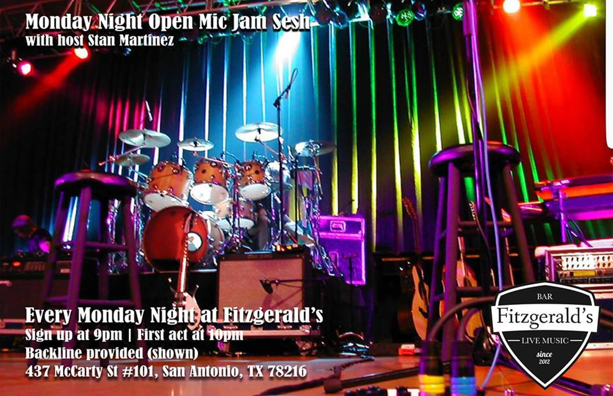 Monday Night Open Mic Jam Fitzgerald S Bar Amp Live Music