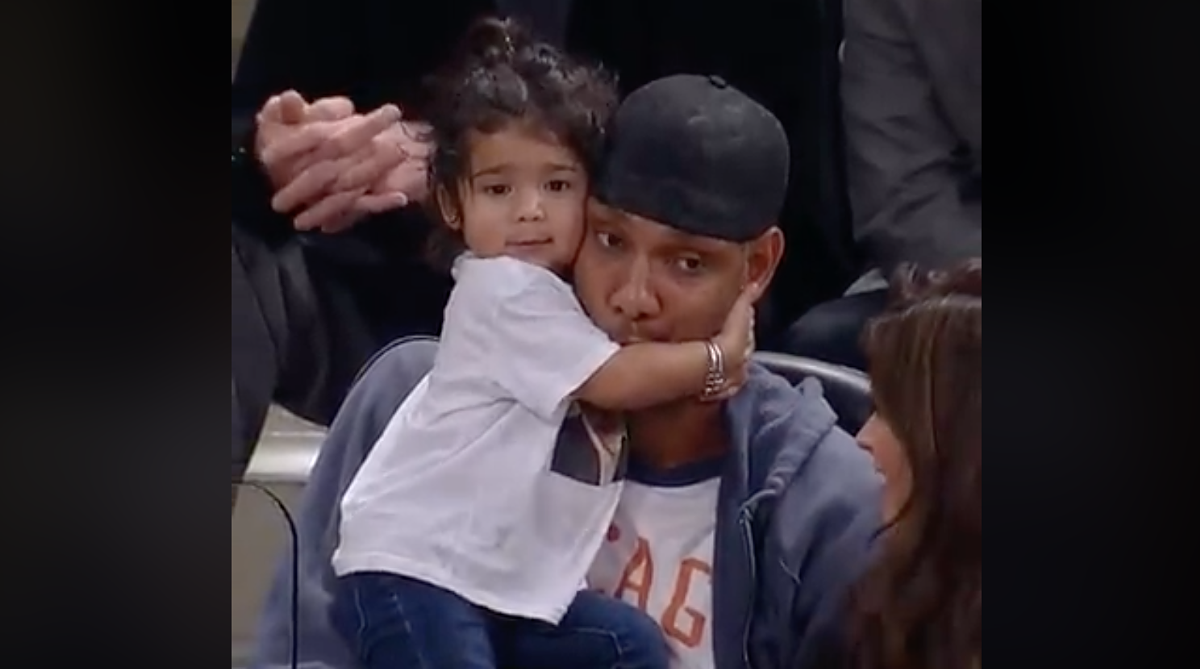 Icymi Here S Tim Duncan And His Adorable Daughter Quill