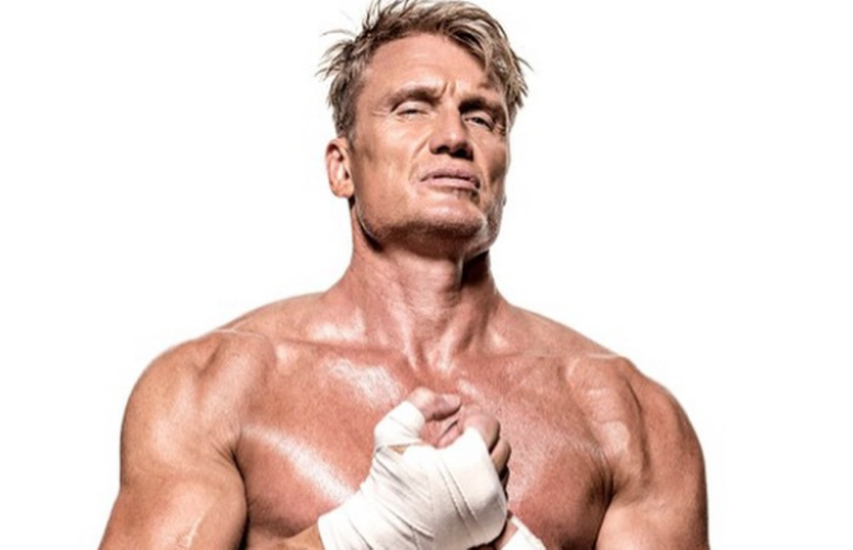 Dolph Lundgren Ivan Drago From Rocky Iv To Make