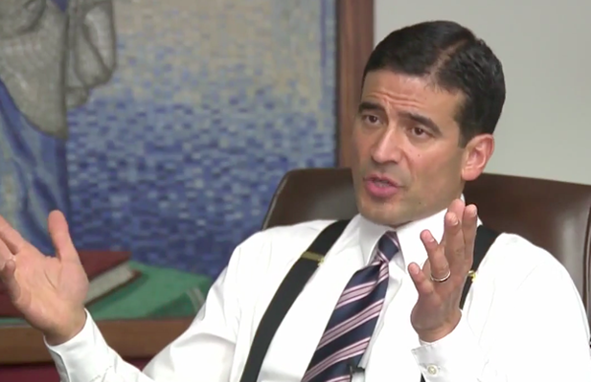Former Bexar County District Attorney Nico LaHood Placed