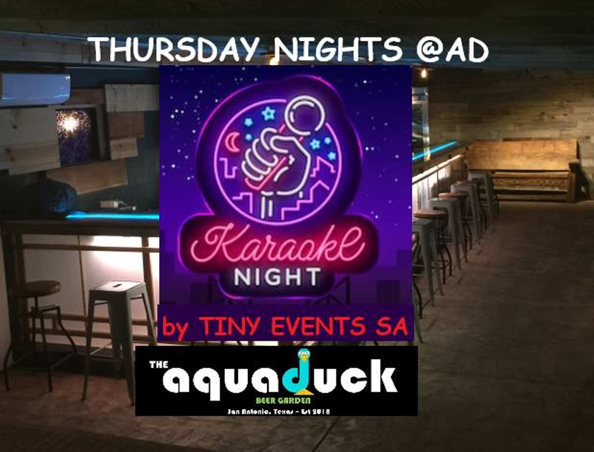 Karaoke Nights The Aquaduck Beer Garden Special Events