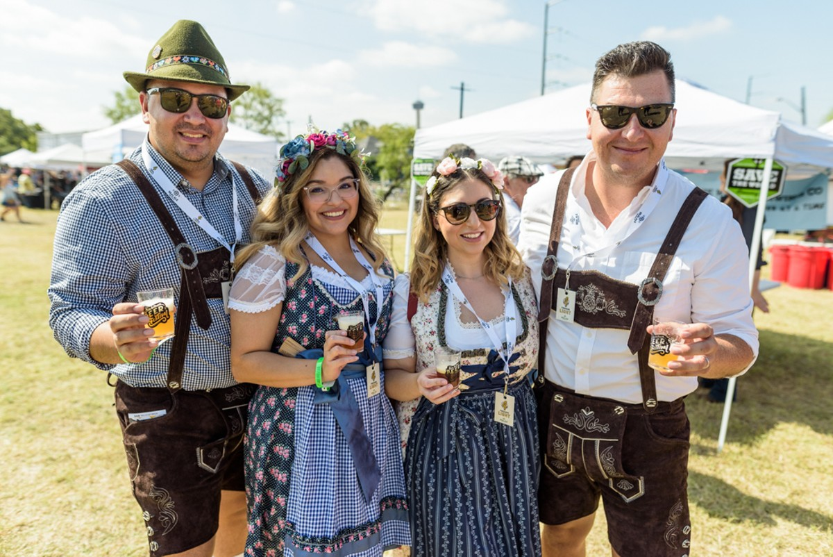 All the Beautiful People We Saw at the 2019 San Antonio Beer Festival