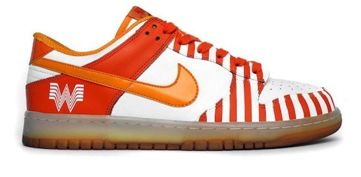 2b16480ac6 The Nike Whataburger Kicks Are Real