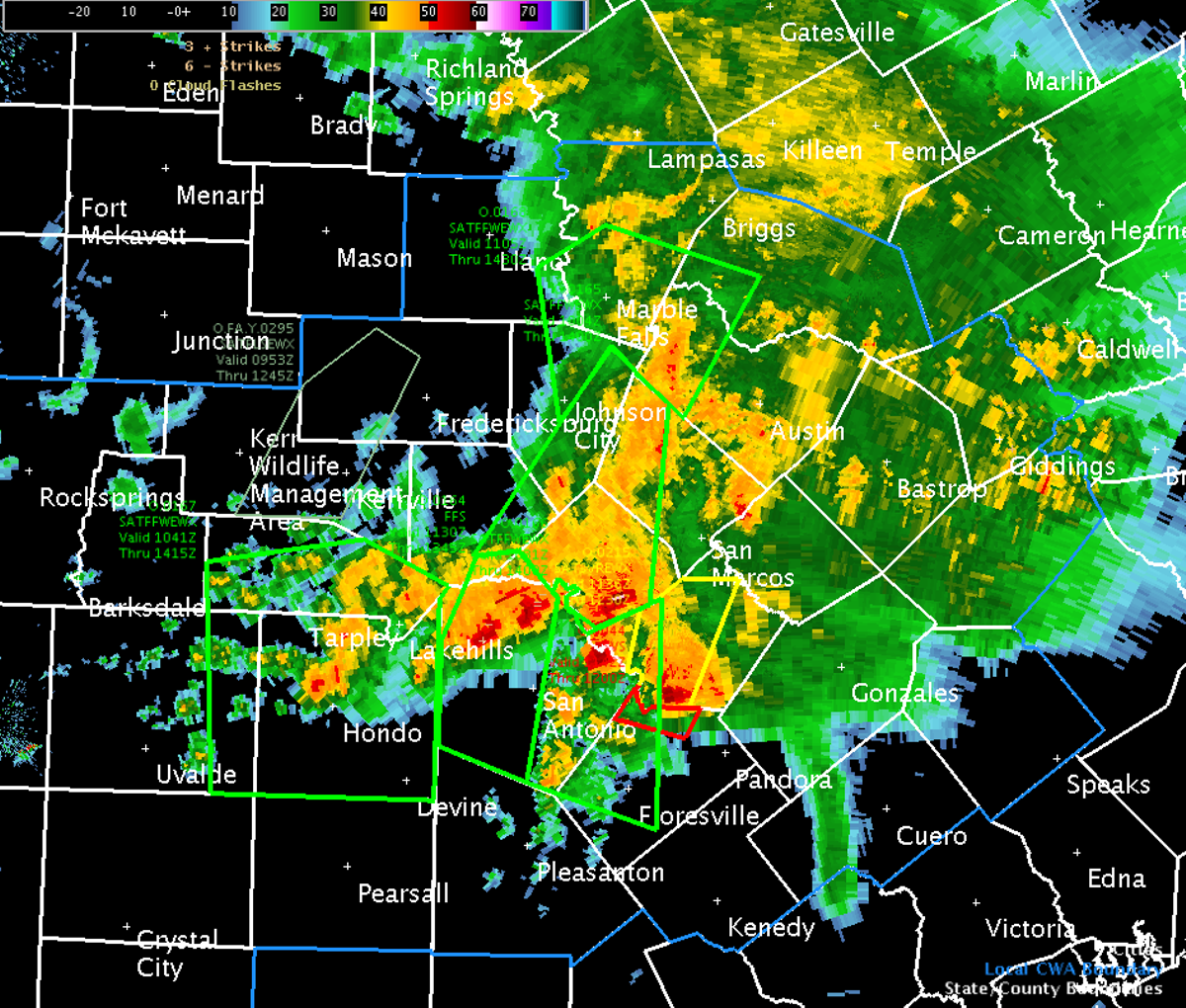 Severe Weather Strikes San Antonio Again Blogs San