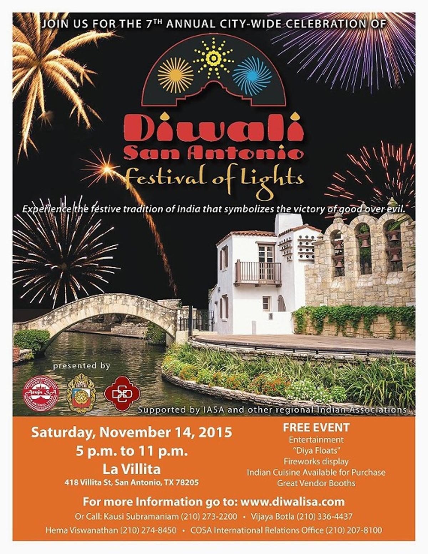 Diwali San Antonio Festival Of Lights La Villita