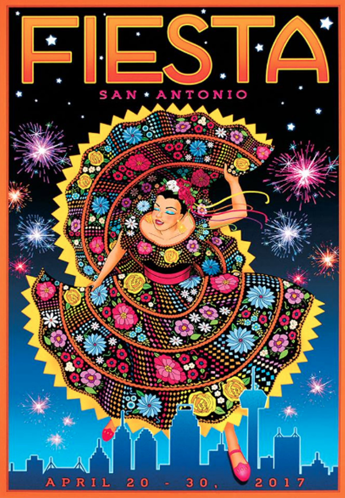 The Official Fiesta 2017 Poster Is Here Artslut