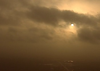 Weather Service Photos Show Just How Badly Saharan Dust is Screwing Up Our Air