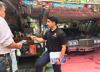 South San's Tax Election Pits Councilman Rey Saldaña Against Board Member Connie Prado
