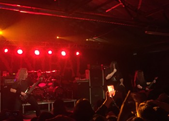 Cannibal Corpse Brutalizes San Antonio on the Opening Night of the Decibel Magazine Tour 2019
