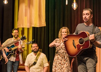 Once More, with Feeling: A Review of <i>Once</i> at the Public Theater of San Antonio
