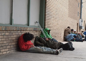 San Antonio's Homeless Population Dropped Ever-So-Slightly in 2016