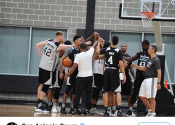 Summer Spurs Storm Utah