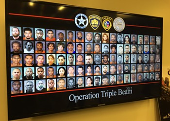 San Antonio Law Enforcement Make 215 Gang-Related Arrests in 90 Days