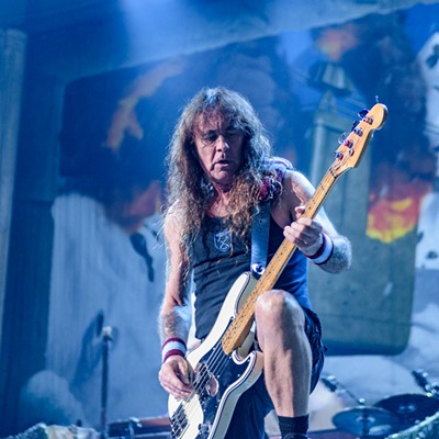 Iron Maiden Stopped By the AT&T Center and Blew All of San Antonio Away
