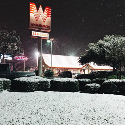 San Antonians React to the First Real Snowfall Since 1985
