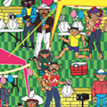Local Artist Highlights San Antonio Culture with Juxtaposition, Mesoamerican Iconography