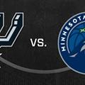 San Antonio Spurs Hosting Minnesota Timberwolves in Regular Season Opener Tonight