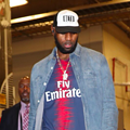 LeBron James Wore a Beto O'Rourke Hat Ahead of the Lakers Matchup Against the Spurs