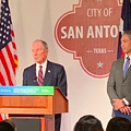 Michael Bloomberg Presents San Antonio with American Cities Climate Challenge Grant
