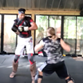 Video Shows Tim Duncan Kickboxing at San Antonio Fitness Center