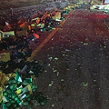 Collision Between Big Rig, Tanker Truck Spills Thousands of Pounds of Avocados Onto Highway Near San Antonio