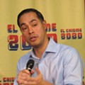 Julián Castro Fills Out Paperwork to Enter Texas Primary