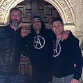 Tom Green Shares Videos of His Visit to the Alamo with Criss Angel, Eating Breakfast Tacos in San Antonio