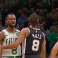 Celtics Fan Banned from TD Arena for Life After Throwing Can at Spurs Bench