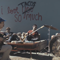 Local Country-Emo Band El Campo Release New Video Featuring 'I Love <strike>You</strike> Tacos So Much' Wall