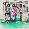 You Can Bid on Rolling Stones Guitarist Ronnie Wood's Painting of the Stones at The Alamo
