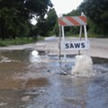 After Storms, Untreated Sewage Spills Onto Trails and Into Creek