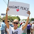 Protesters at Trump's SA Fundraiser Were Passionate and Peaceful