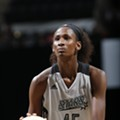 Astou Ndour Offers Silver Lining for the Stars