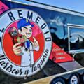 El Remedio's third mobile kitchen will debut at colorful new San Antonio food truck park El Camino