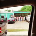 Here's What The Line Looks Like To Get into 2M Smokehouse & Catering