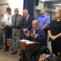"Gov. Abbott Says Border Patrol Won't ""Hamper Evacuation Efforts"""