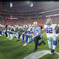 Dallas Cowboys Kneel, and Then Stand, Before Monday Night Game