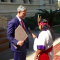 """The City Proclaimed Today, Instead of Columbus Day, """"Indigenous People's Day"""""""