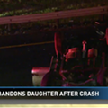 Driver Rolls Vehicle Over Loop 1604 Bridge, Abandons Daughter with Broken Leg in Wreckage