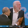 "Coach Pop Ejected for Second Time This Month, Yelled ""Kiss My A—"""