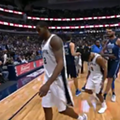 Did Mavericks' Salah Mejri Really Try to Trip Patty Mills?
