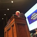Bernie Sanders Wows Progressives at Trinity