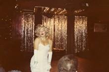 Jimmy James performing as Marilyn Monroe