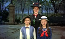 Mary Poppins the Magical Broadway Musical at the historic Woodlawn Theatre