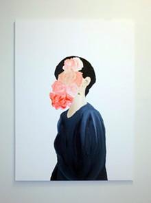 """AMANDA MILLER - Tussie Mussie - Oil on Canvas - 36""""x48"""""""