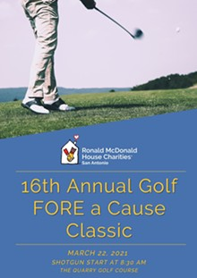 RMHC 16th Annual Golf FORE a Cause Classic - Uploaded by RMHC San Antonio