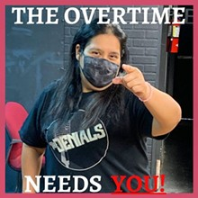 The Overtime Needs You to Laugh! - Uploaded by TheOvertimeTheater