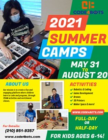 2021 Code4Bots Summer Camps - Uploaded by Code4Bots